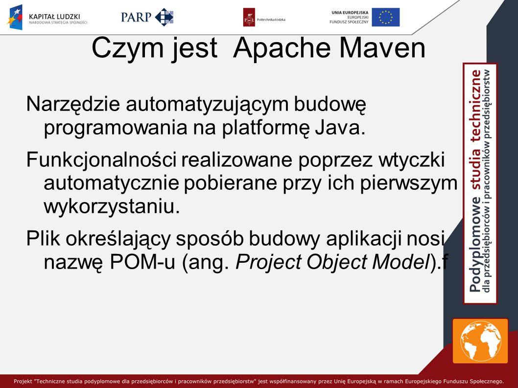 Czym jest Apache Maven