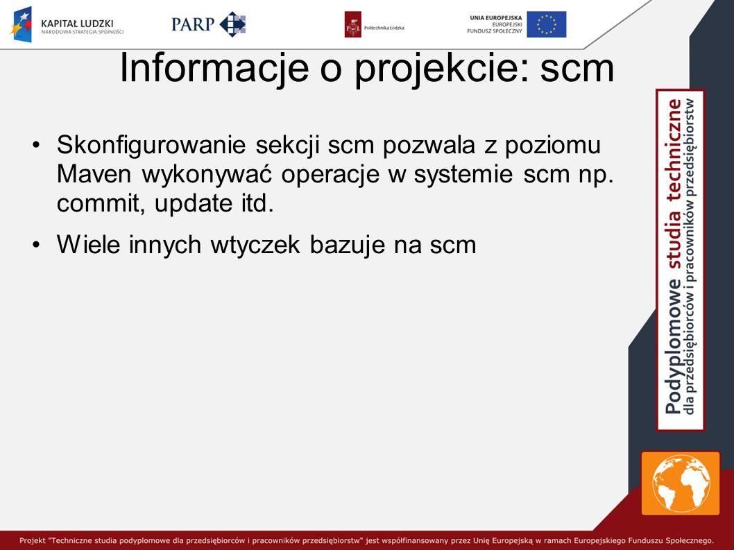 Informacje o projekcie: scm