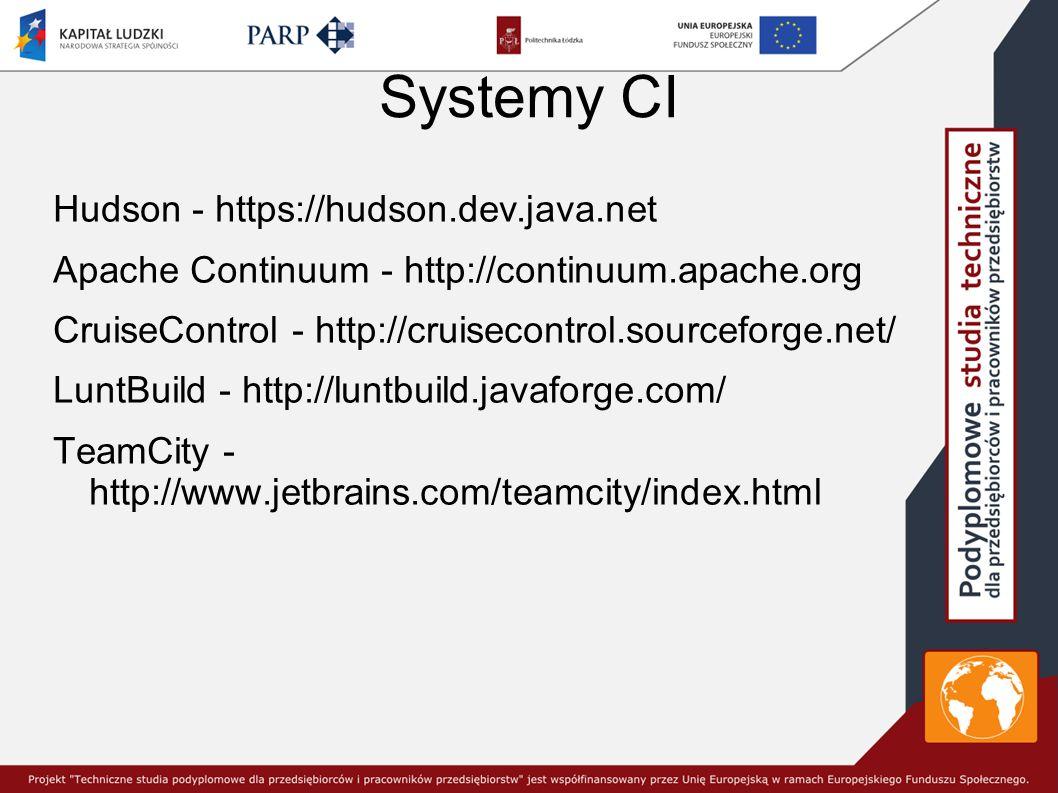 Systemy CI