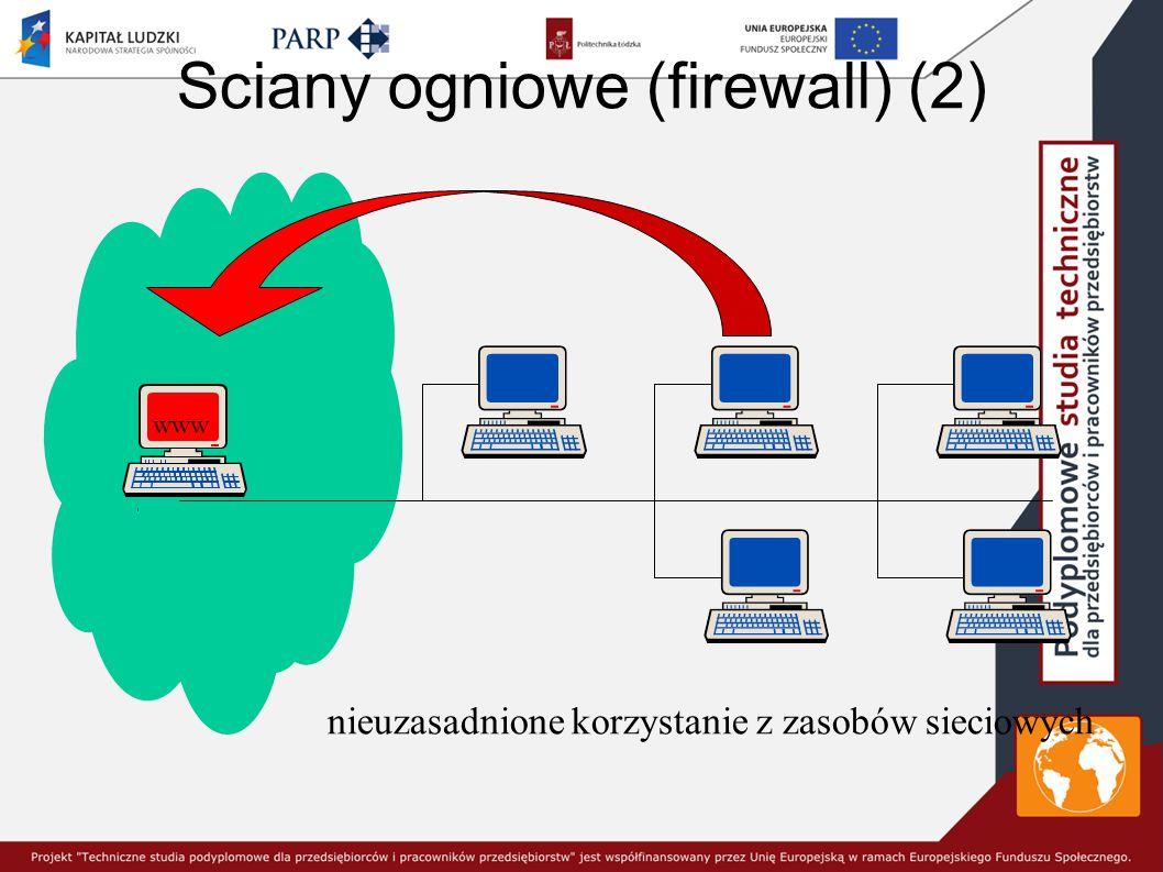 Sciany ogniowe (firewall) (2)