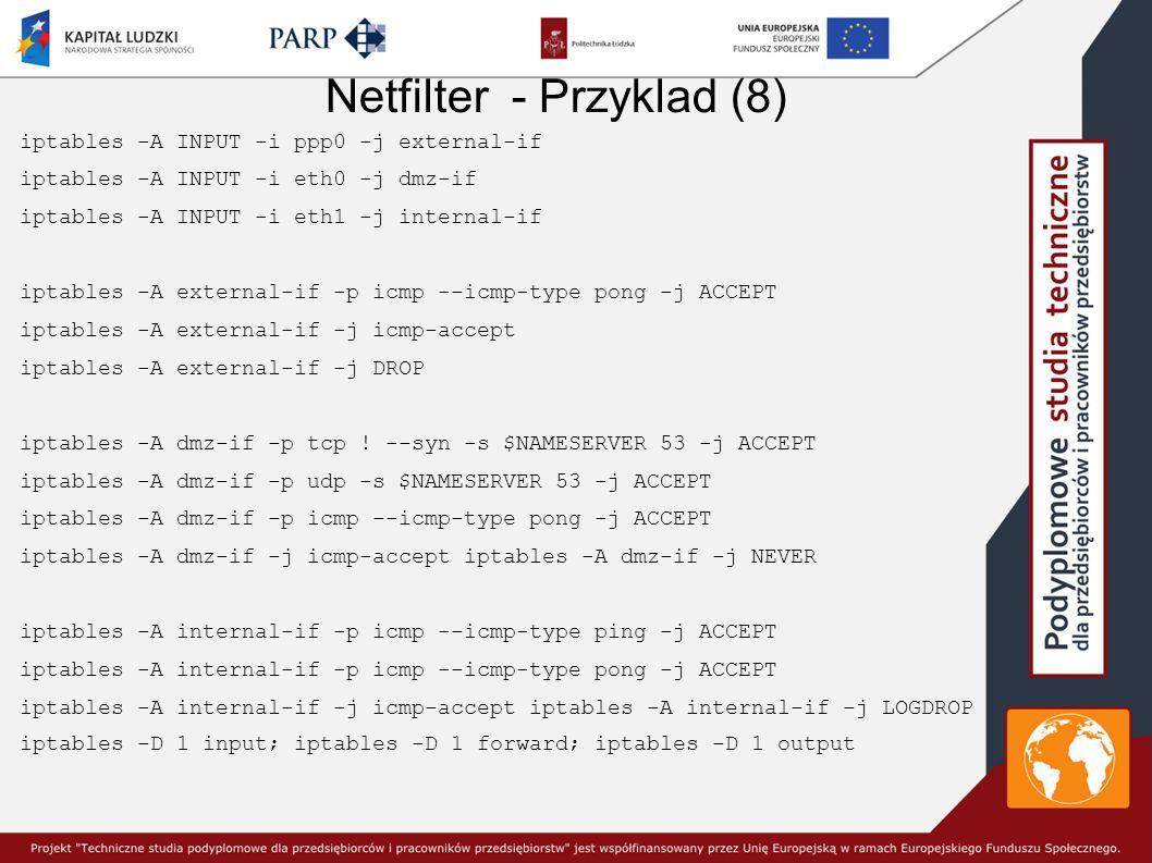 Netfilter - Przyklad (8)