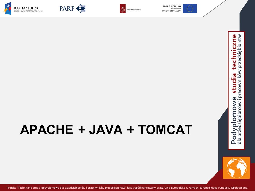 Apache + JAVA + TOMCAT