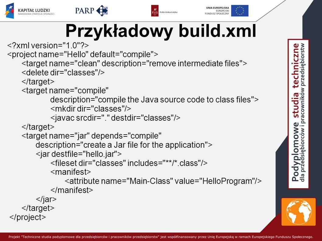 Przykładowy build.xml