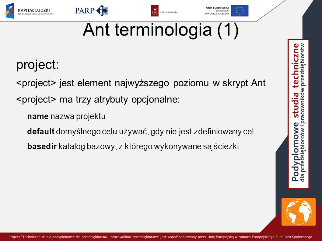 Ant terminologia (1) project: