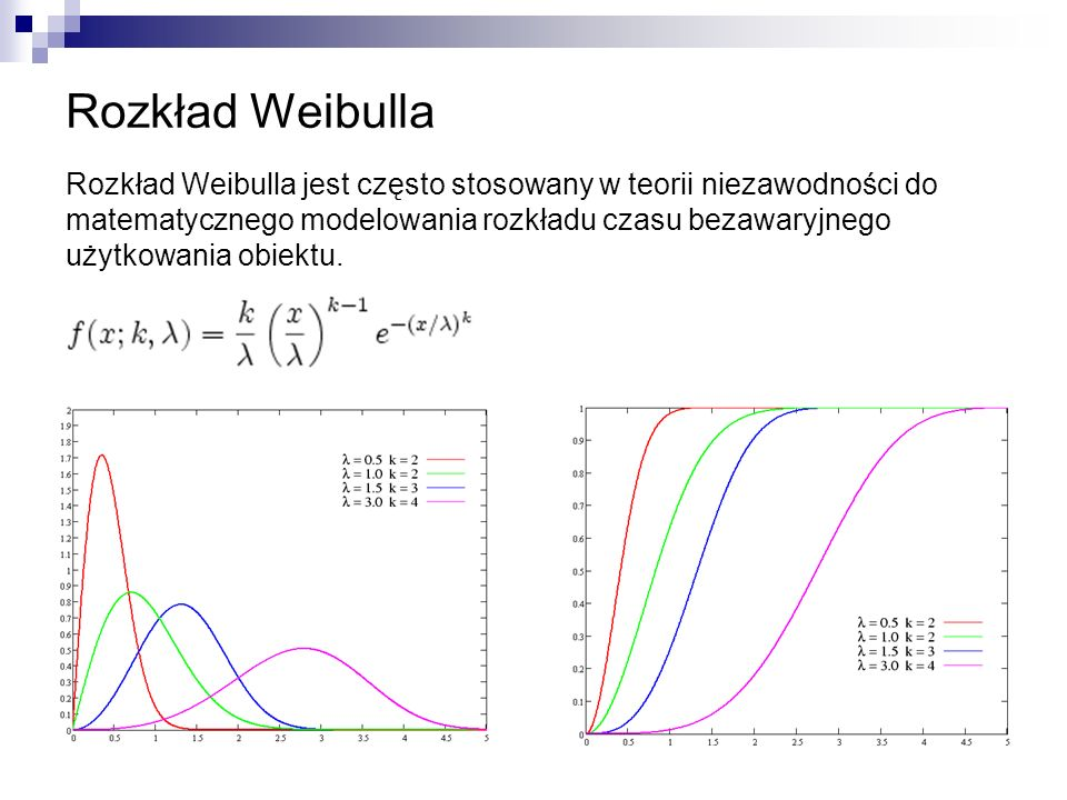 Rozkład Weibulla