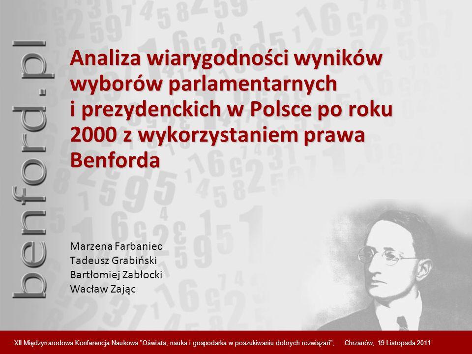 Marzena Farbaniec Tadeusz Grabiński Bartłomiej Zabłocki Wacław Zając