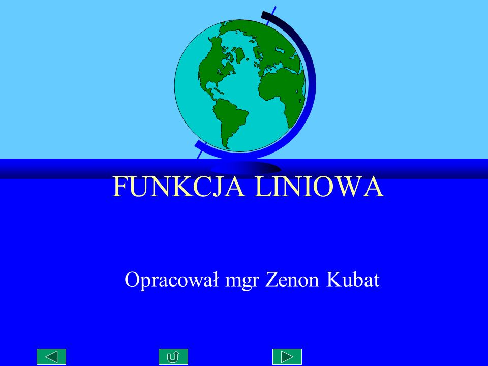 Opracował mgr Zenon Kubat