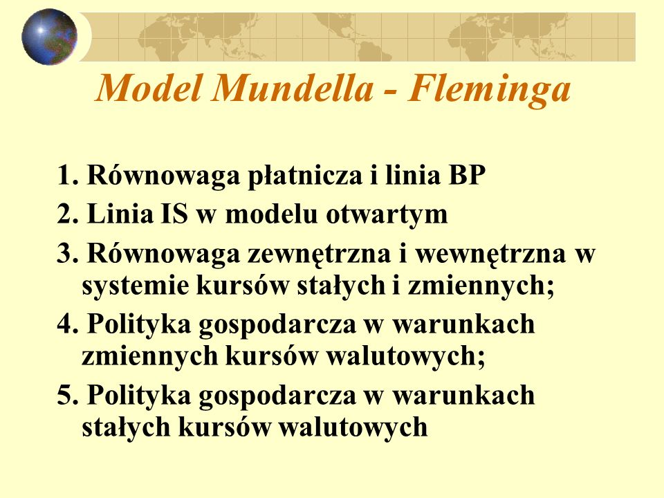 Model Mundella - Fleminga