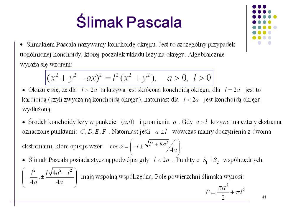 Ślimak Pascala