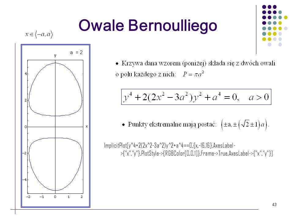 Owale Bernoulliegoa = 2.