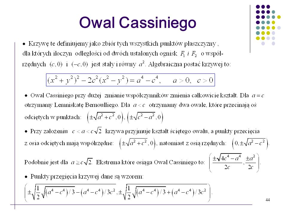 Owal Cassiniego