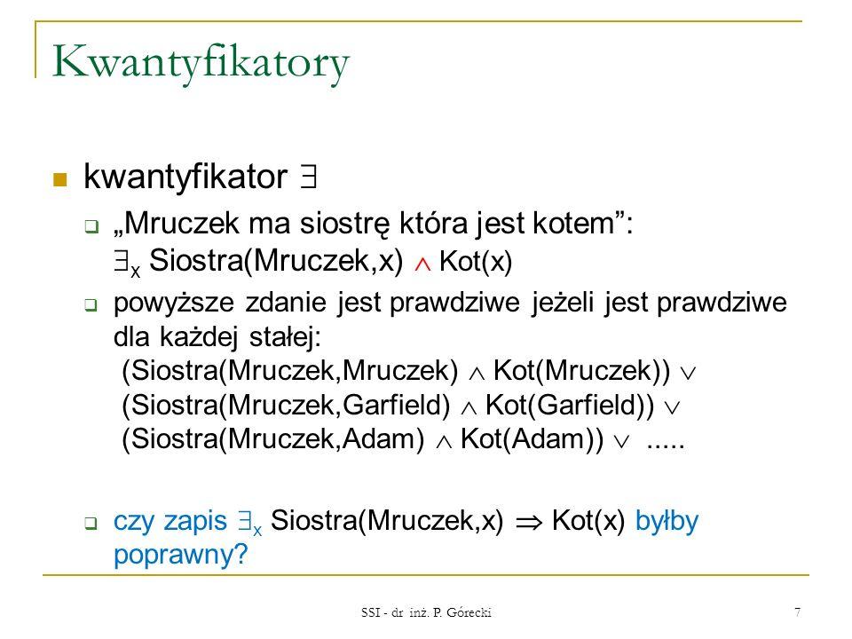 Kwantyfikatory kwantyfikator 