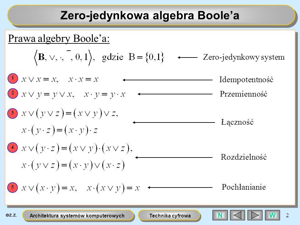 Zero-jedynkowa algebra Boole'a