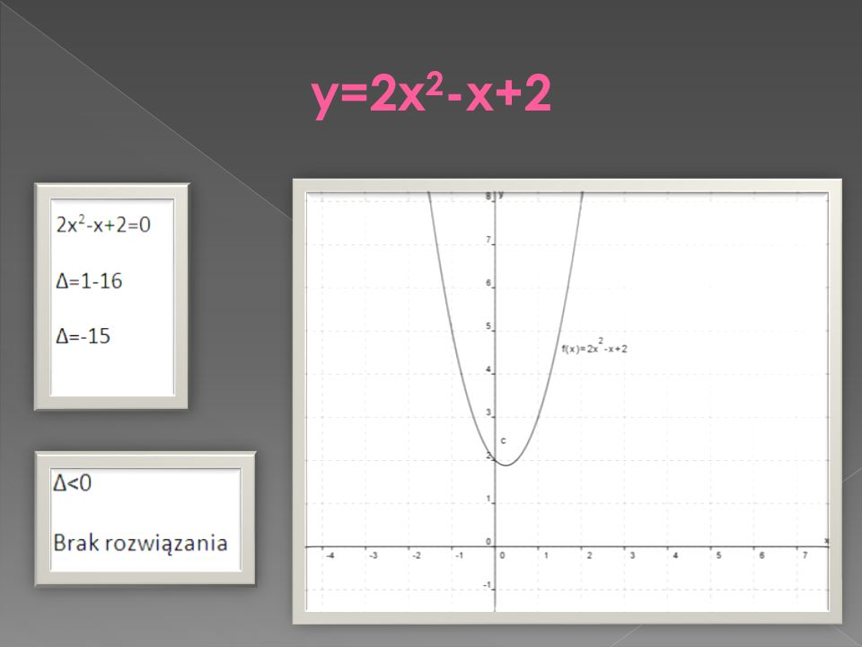 y=2x2-x+2