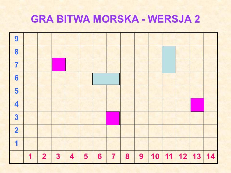 GRA BITWA MORSKA - WERSJA 2
