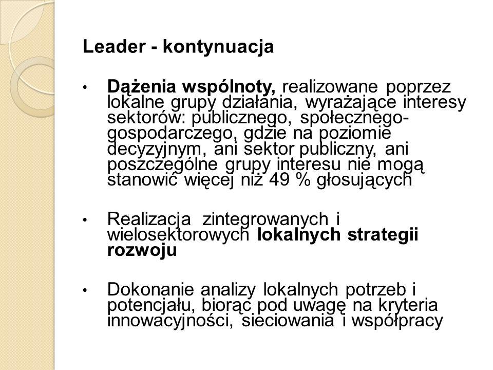 Leader - kontynuacja