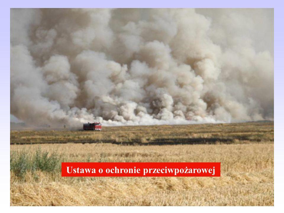 Ustawa o ochronie przeciwpożarowej