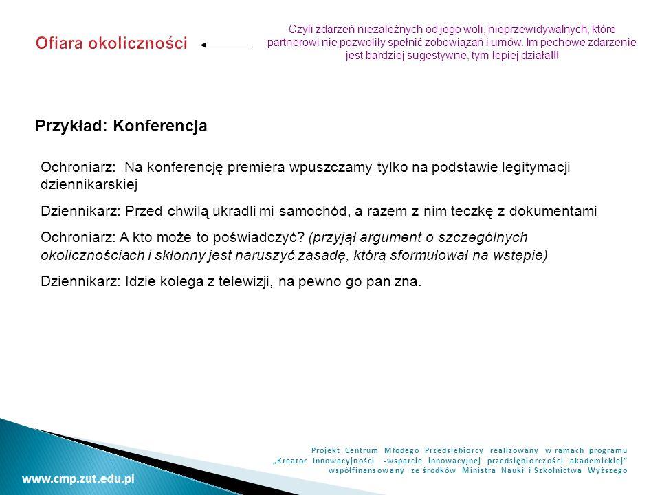 Przykład: Konferencja