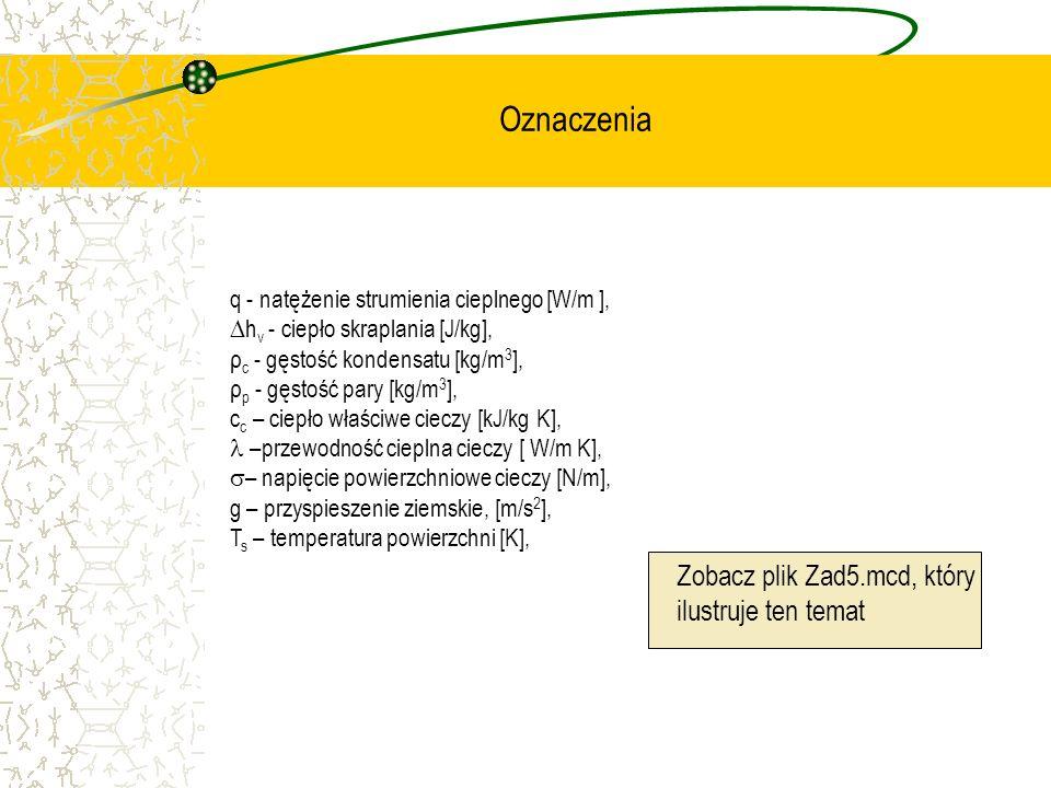 Oznaczenia Zobacz plik Zad5.mcd, który ilustruje ten temat