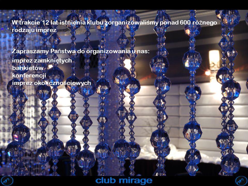 W trakcie 12 lat istnienia klubu zorganizowaliśmy ponad 600 różnego