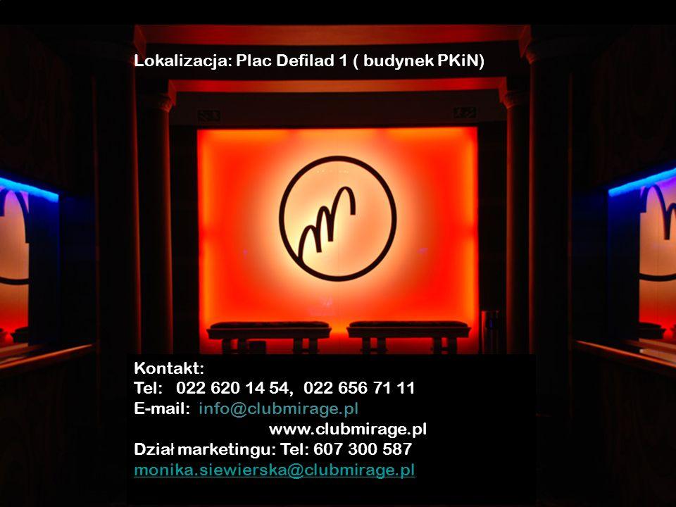 Lokalizacja: Plac Defilad 1 ( budynek PKiN)