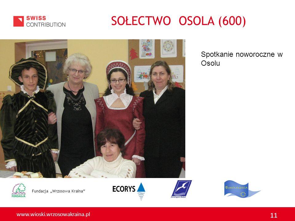 SOŁECTWO OSOLA (600) Spotkanie noworoczne w Osolu