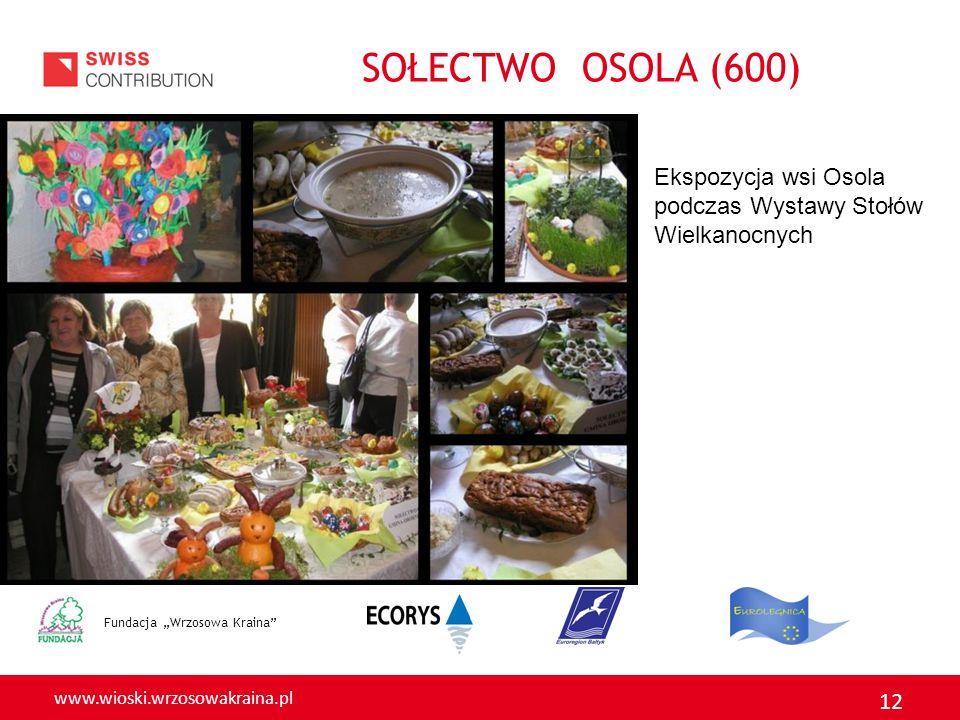 SOŁECTWO OSOLA (600) Ekspozycja wsi Osola podczas Wystawy Stołów Wielkanocnych.