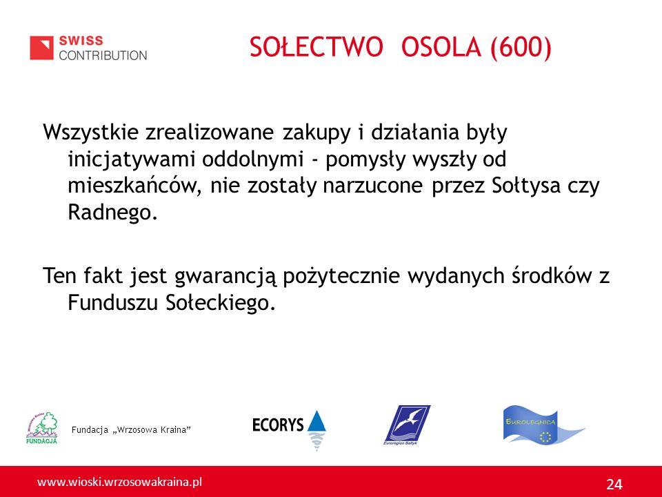 SOŁECTWO OSOLA (600)