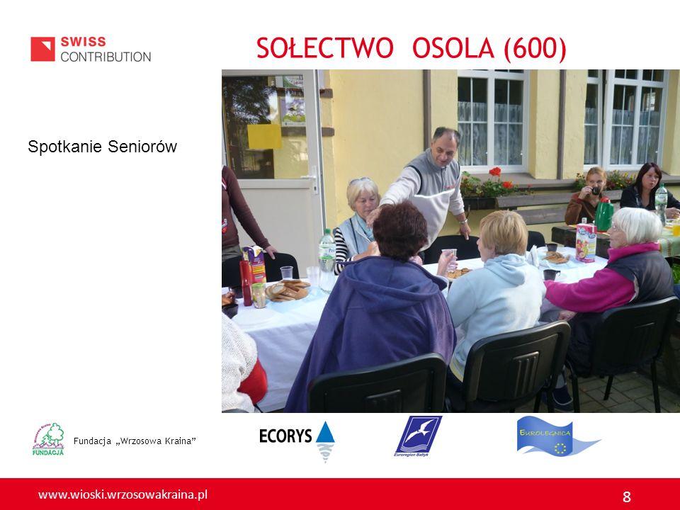 """SOŁECTWO OSOLA (600) Spotkanie Seniorów Fundacja """"Wrzosowa Kraina"""