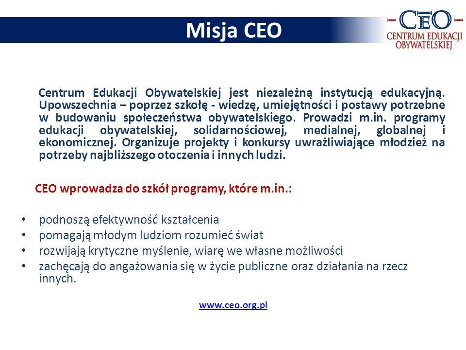 Misja CEO podnoszą efektywność kształcenia