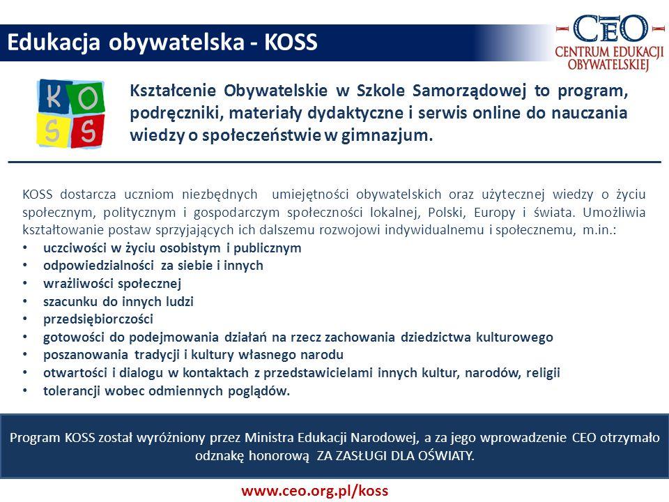 Edukacja obywatelska - KOSS