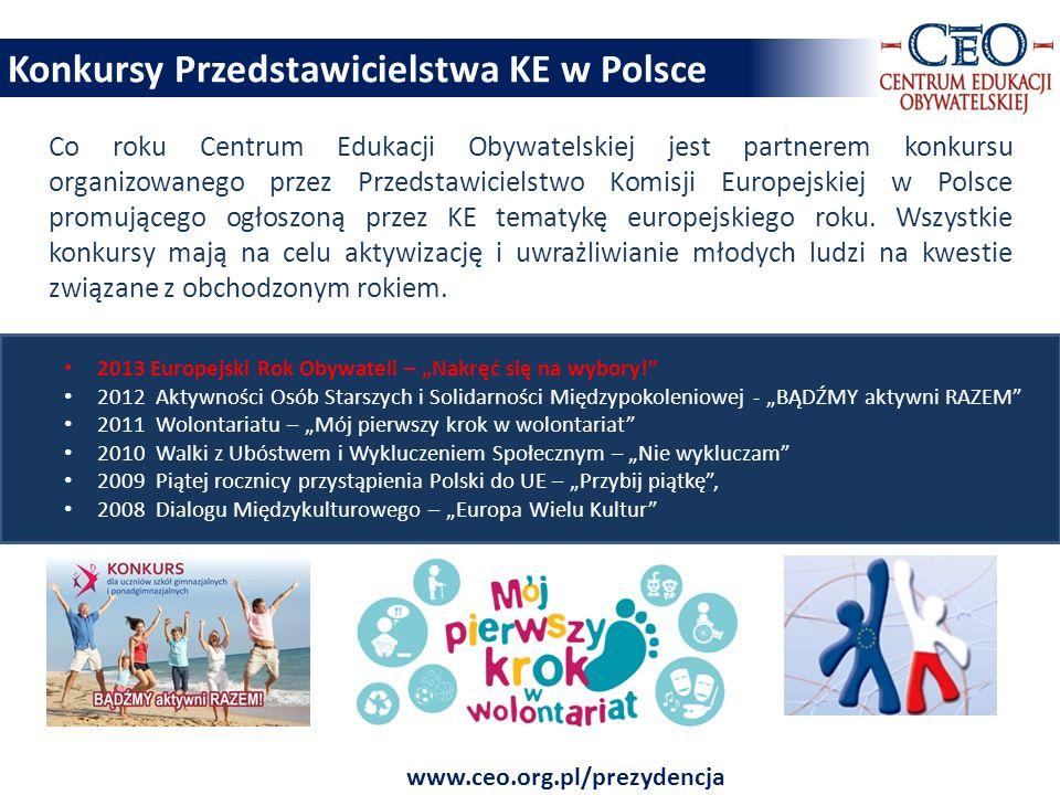 Konkursy Przedstawicielstwa KE w Polsce