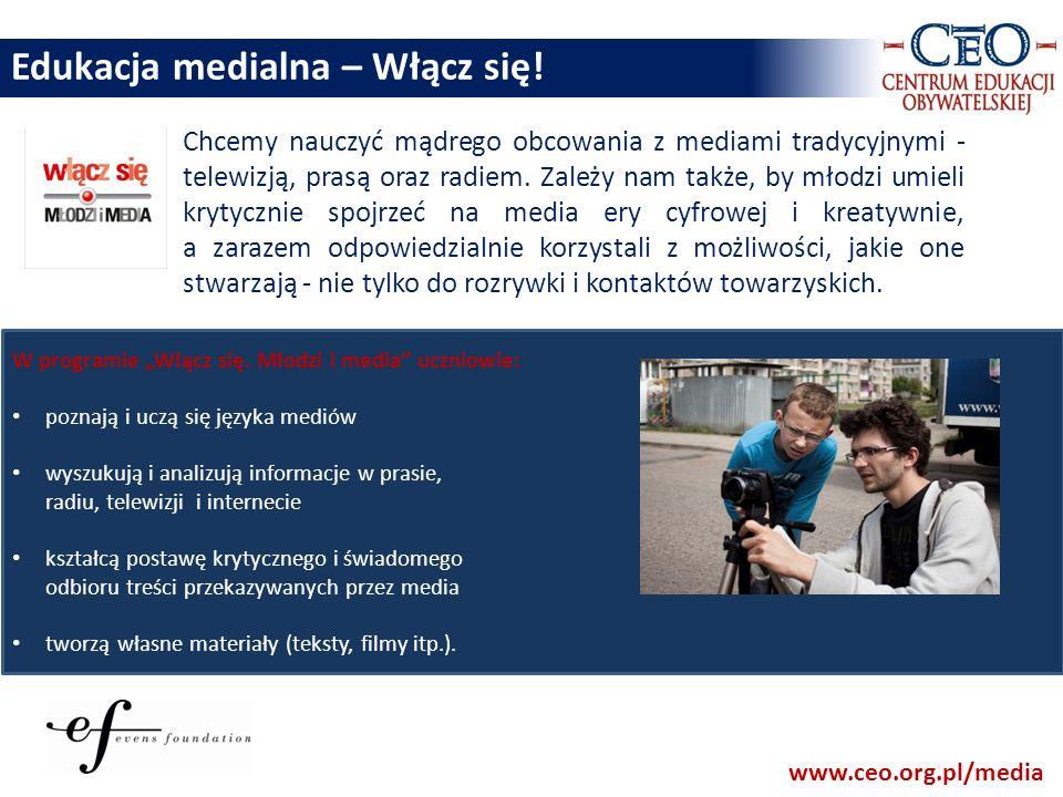 Edukacja medialna – Włącz się!