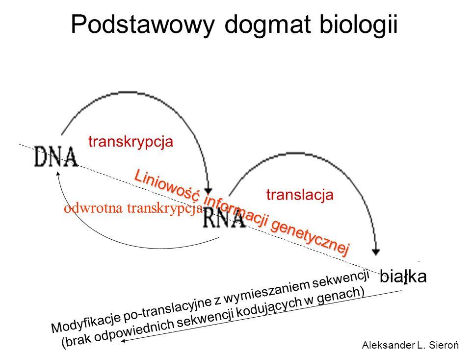 Podstawowy dogmat biologii