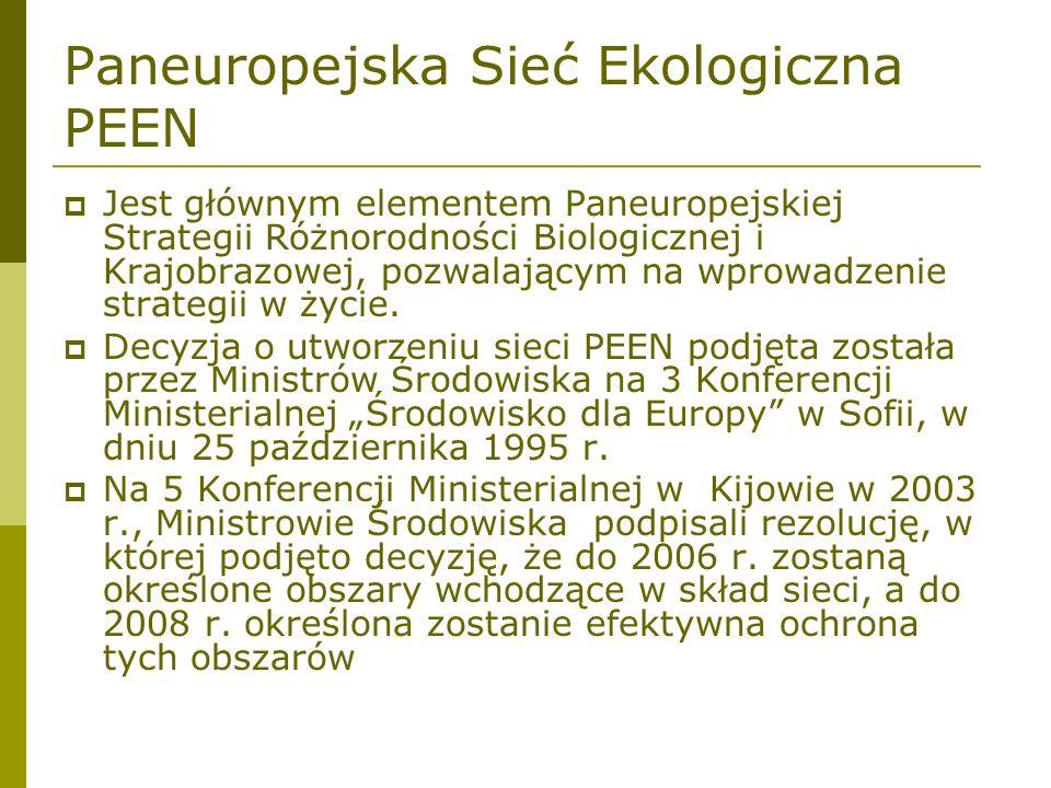 Paneuropejska Sieć Ekologiczna PEEN