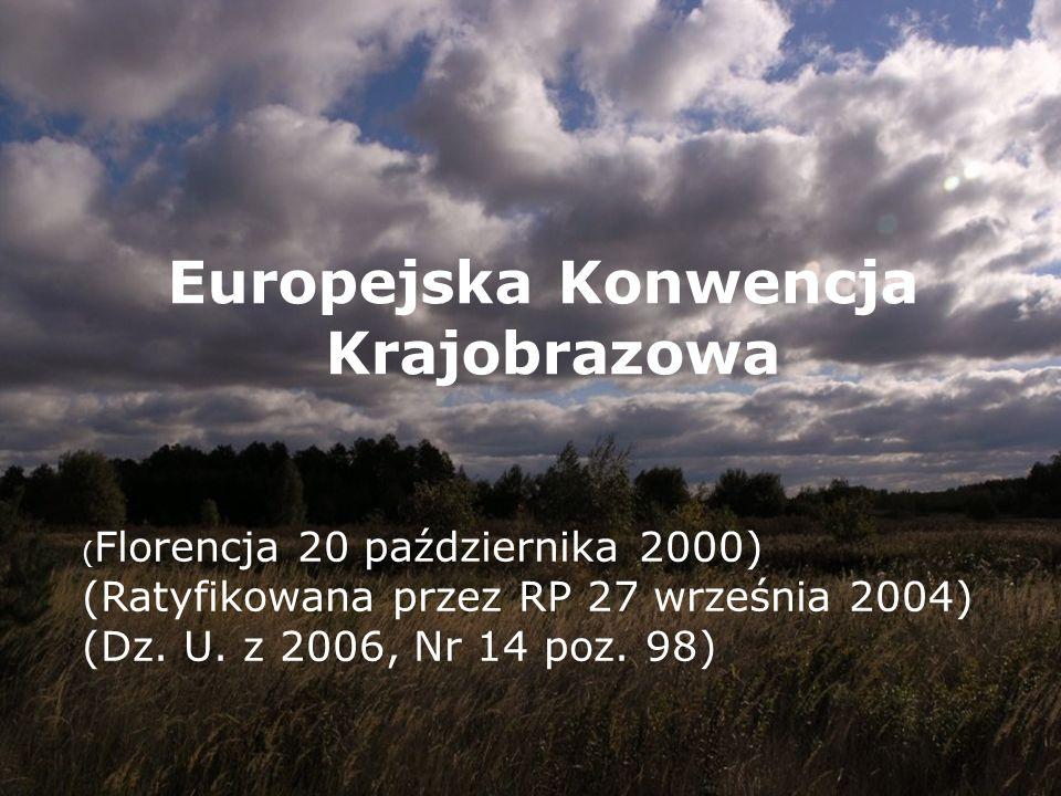 Europejska Konwencja Krajobrazowa