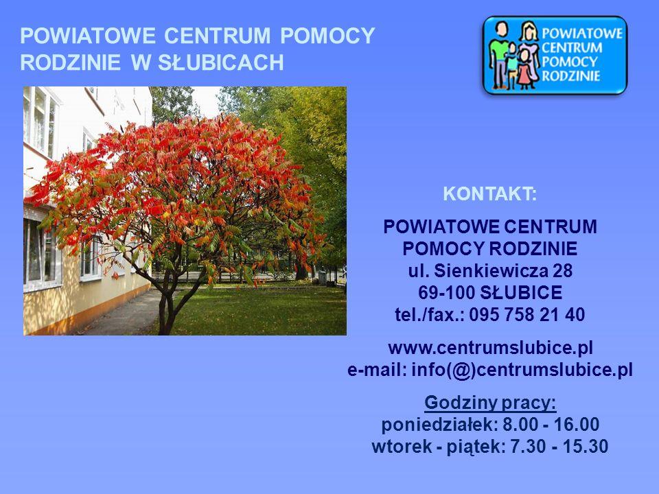 www.centrumslubice.pl e-mail: info(@)centrumslubice.pl