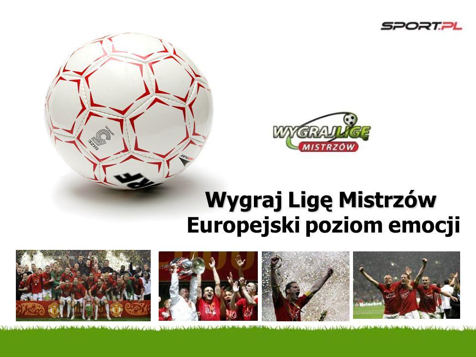 Wygraj Ligę Mistrzów Europejski poziom emocji