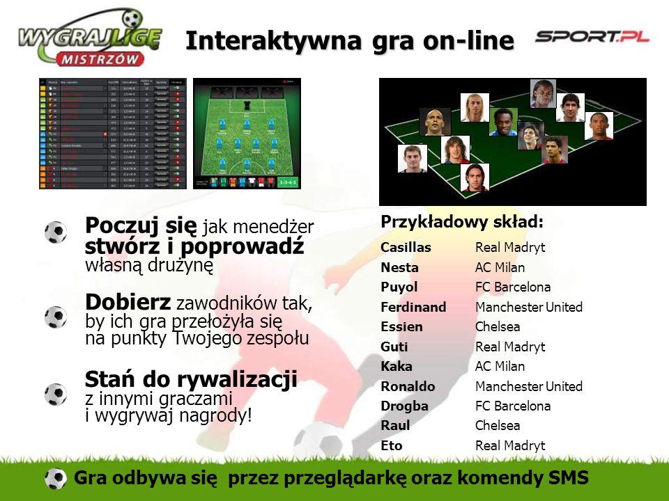 Interaktywna gra on-line