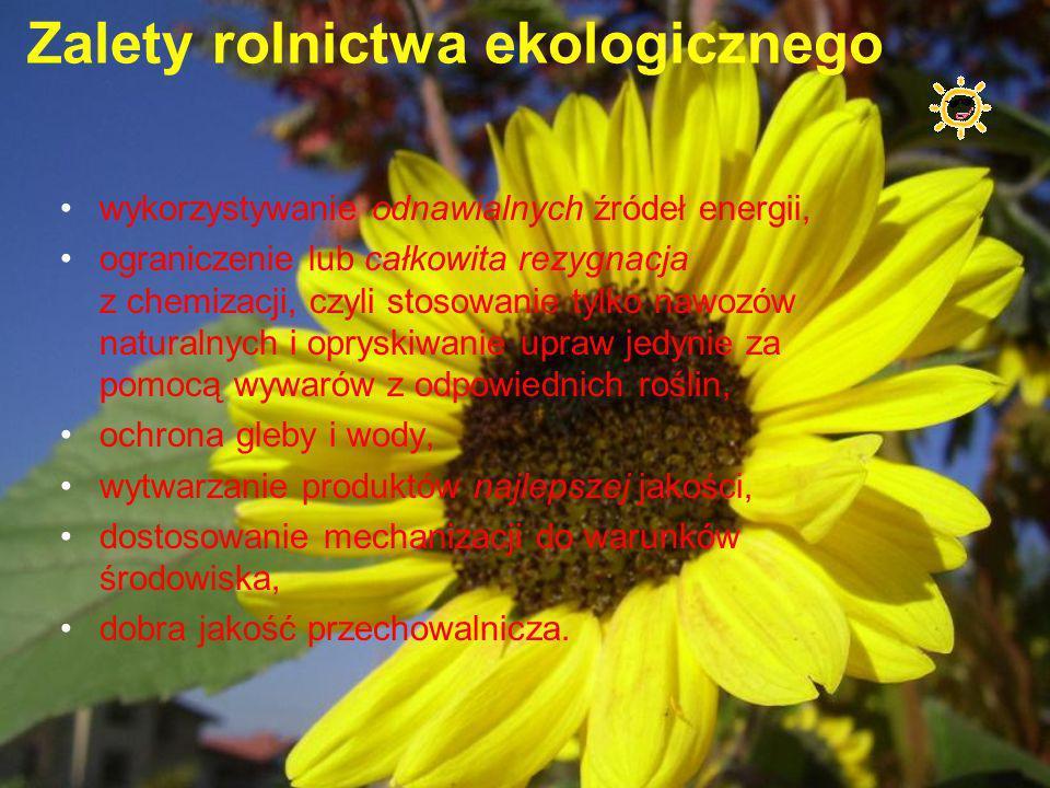 Zalety rolnictwa ekologicznego