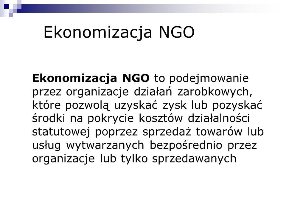 Ekonomizacja NGO
