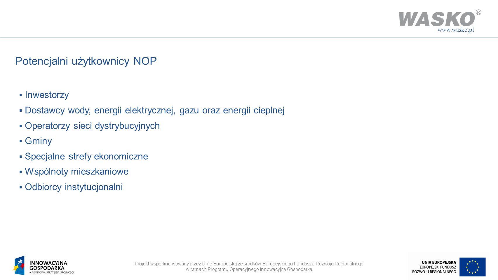 Potencjalni użytkownicy NOP