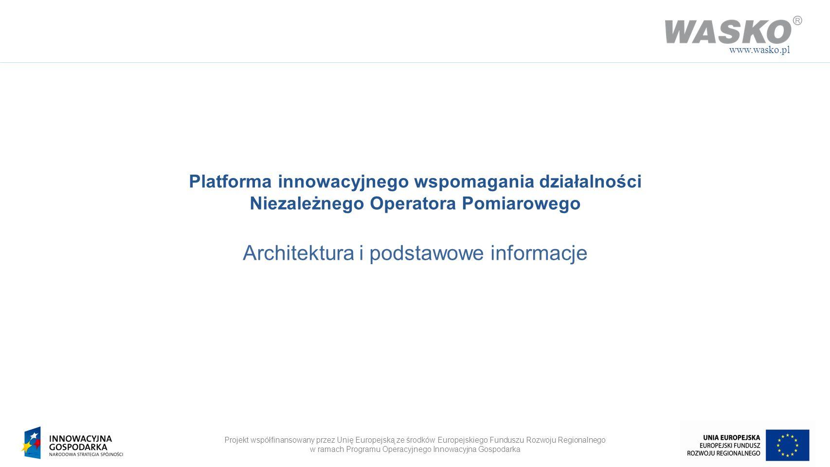 Architektura i podstawowe informacje