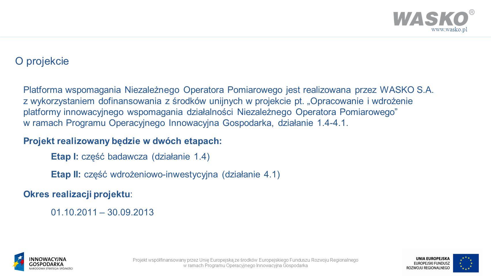 www.wasko.plO projekcie.