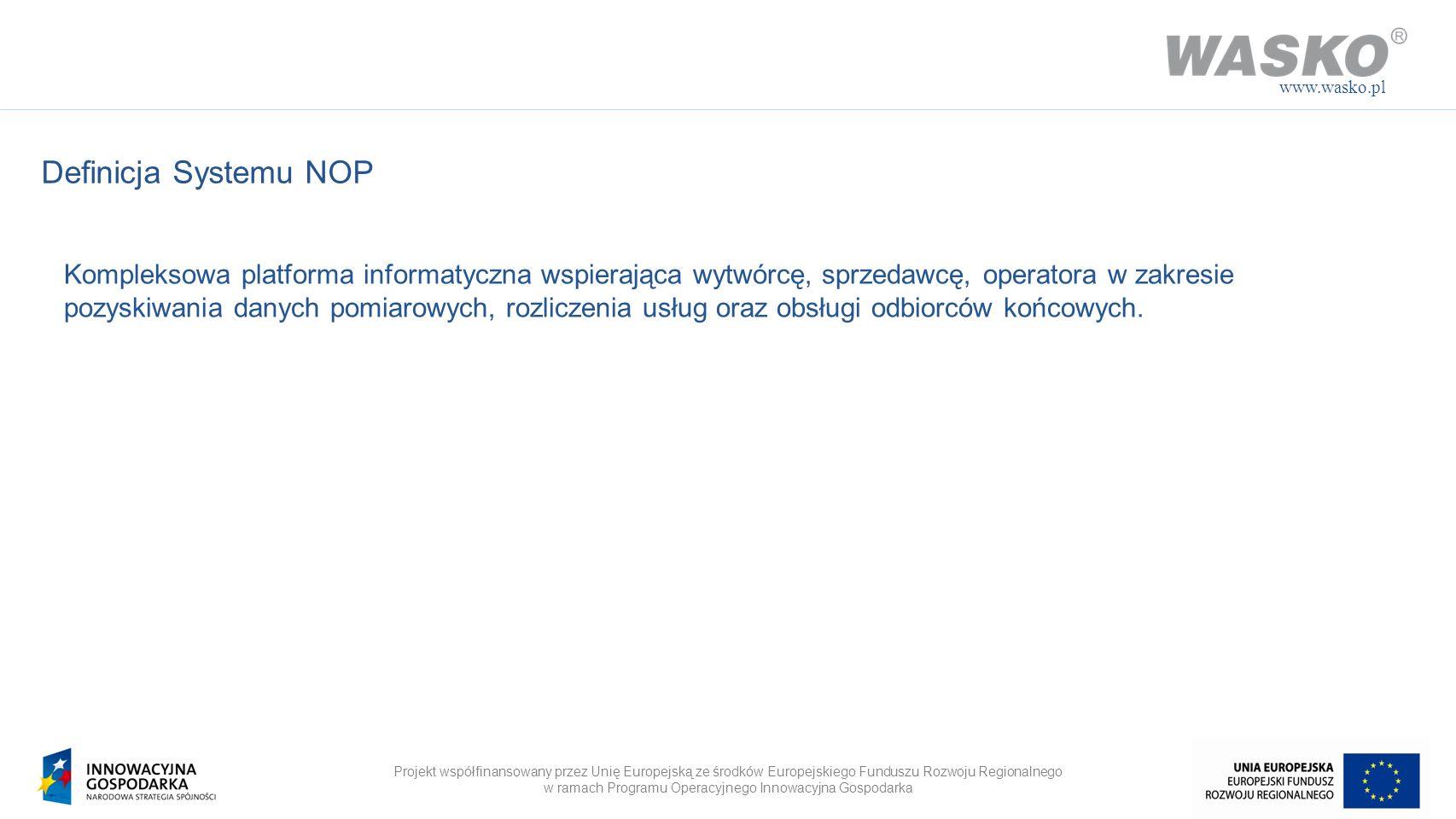 www.wasko.pl Definicja Systemu NOP.
