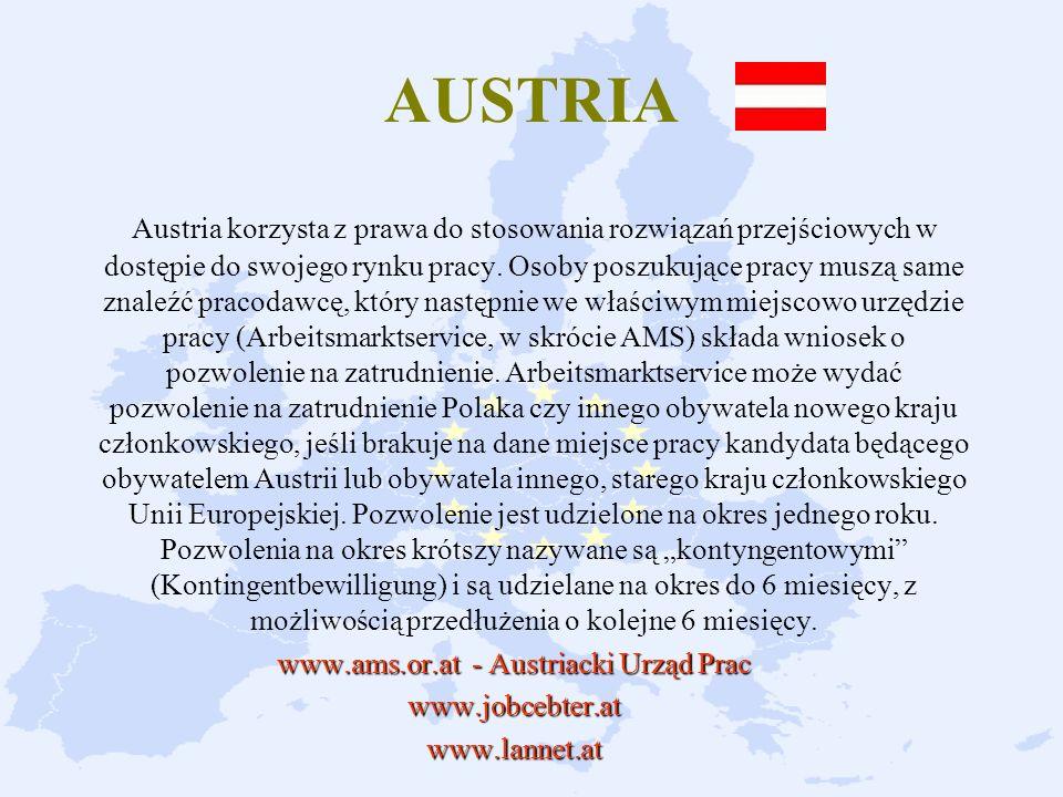 www.ams.or.at - Austriacki Urząd Prac