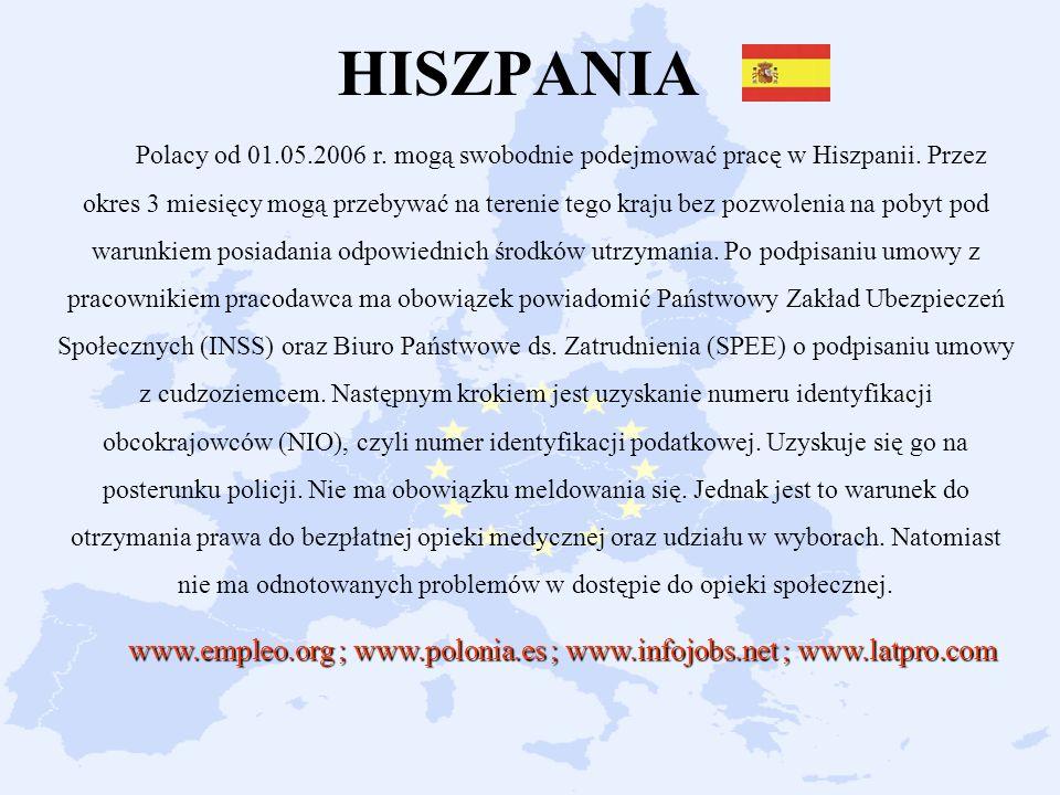 www.empleo.org ; www.polonia.es ; www.infojobs.net ; www.latpro.com