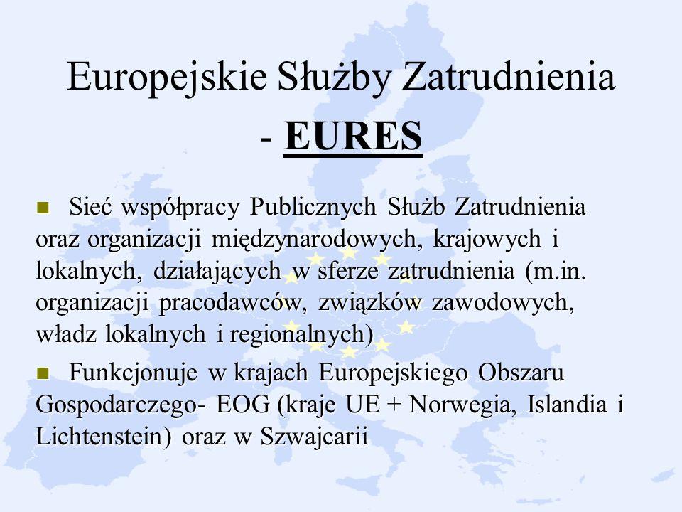 Europejskie Służby Zatrudnienia - EURES