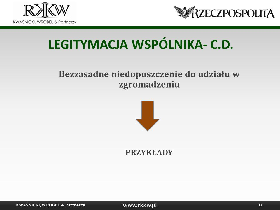 LEGITYMACJA WSPÓLNIKA- C.D.