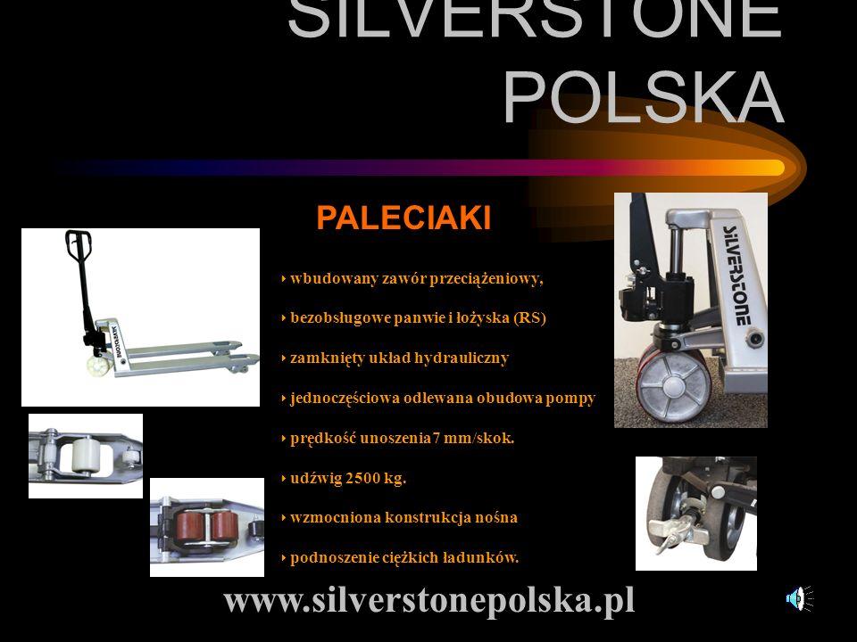 SILVERSTONE POLSKA www.silverstonepolska.pl PALECIAKI